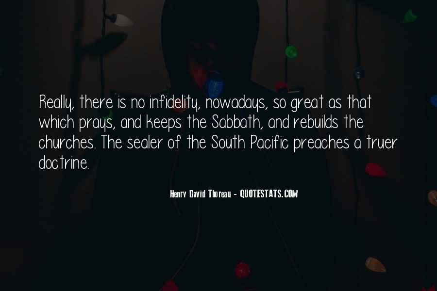 Quotes About The South Pacific #1210087