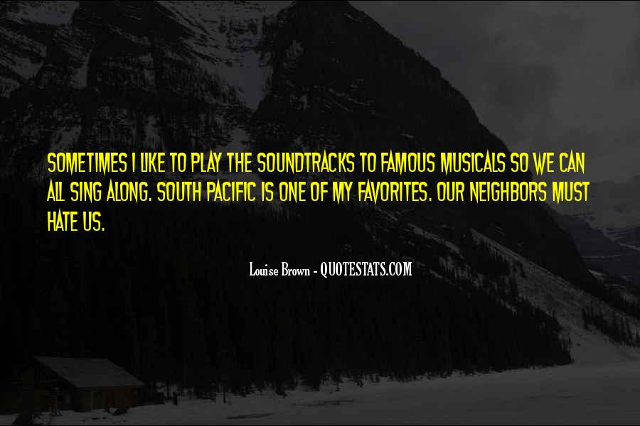 Quotes About The South Pacific #1405224