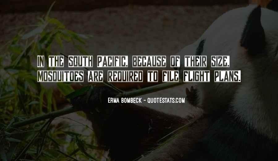 Quotes About The South Pacific #1846091