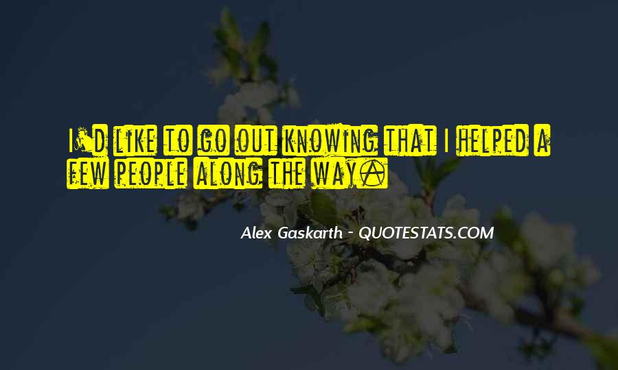 Quotes About Knowing All Along #1155654