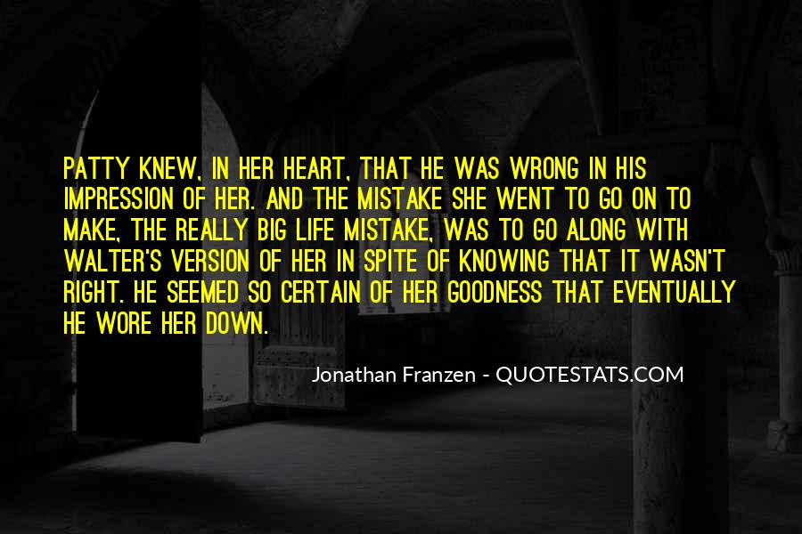 Quotes About Knowing All Along #1534934