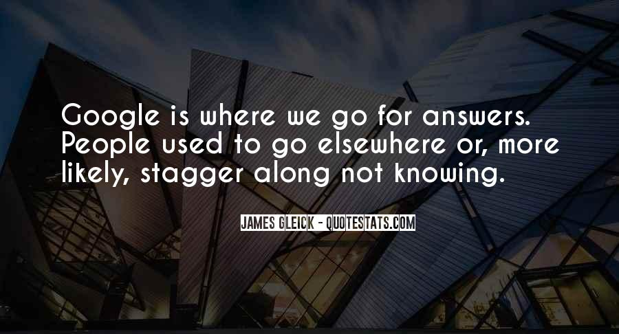 Quotes About Knowing All Along #158483