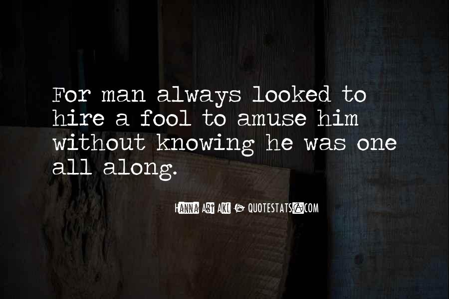 Quotes About Knowing All Along #1588711