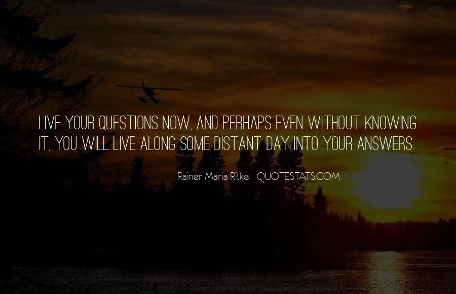 Quotes About Knowing All Along #158927