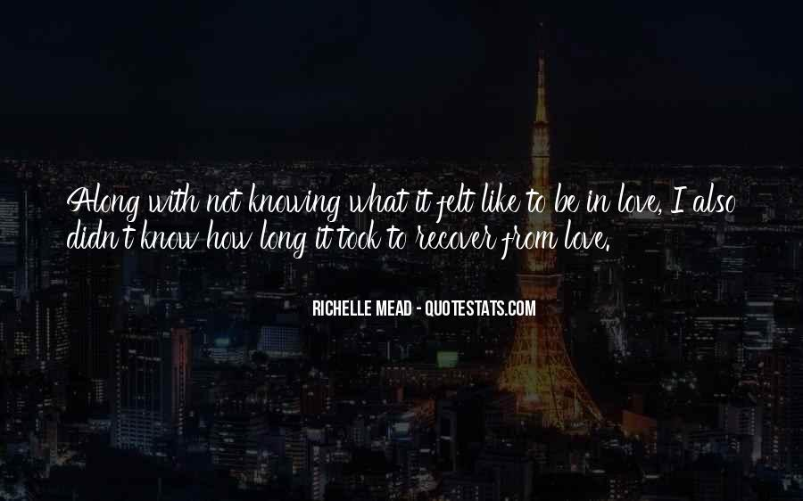 Quotes About Knowing All Along #416121