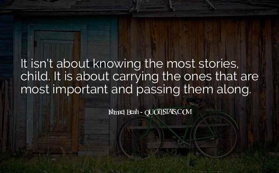 Quotes About Knowing All Along #49647