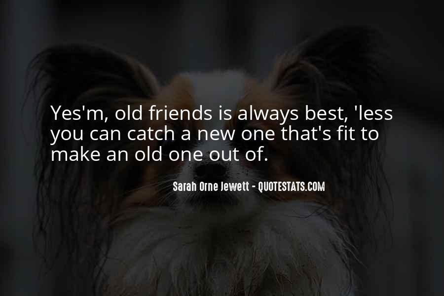 Quotes About Old Best Friends #965354