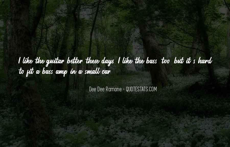 Quotes About Better Days #323075