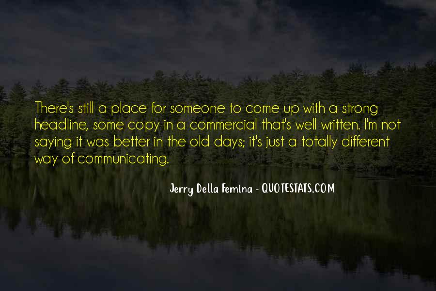 Quotes About Better Days #90034