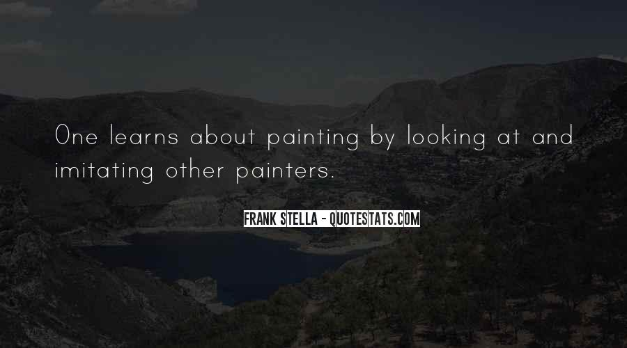 Quotes About Painters And Painting #849945