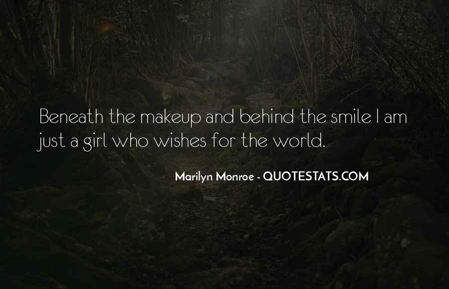 Quotes About Smile Marilyn Monroe #304943