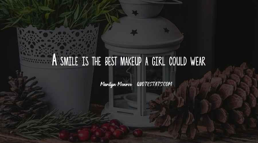 Quotes About Smile Marilyn Monroe #632151