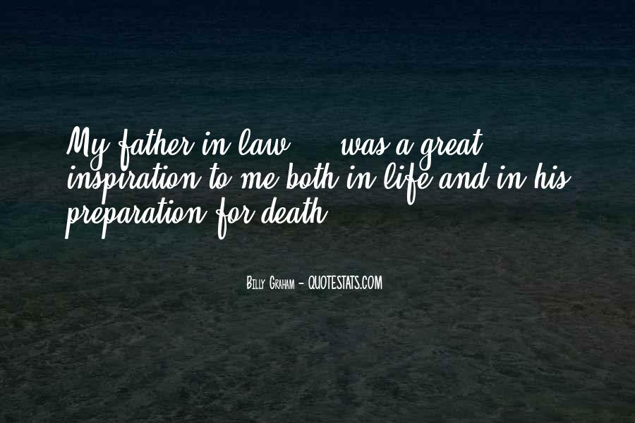 Quotes About Death Of A Father In Law #201913