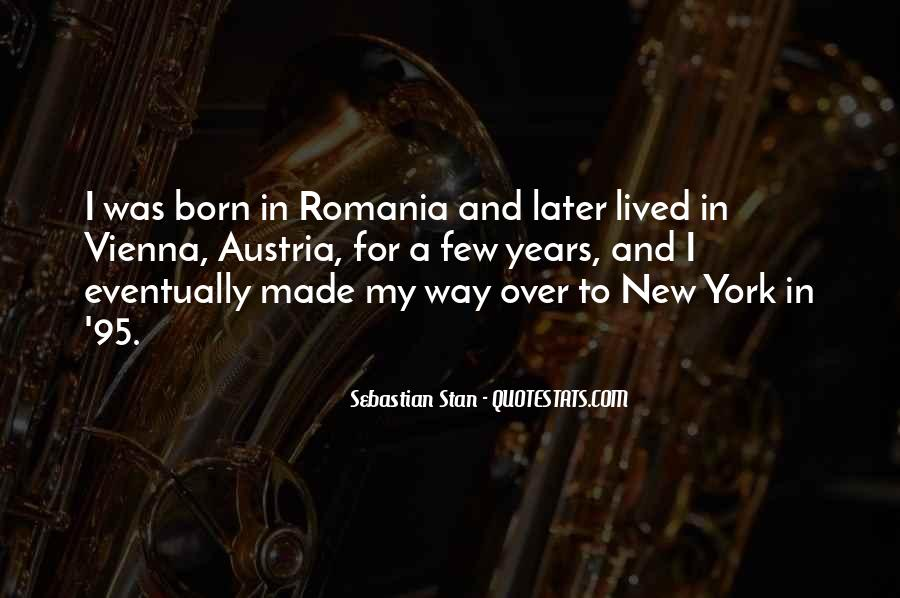 Quotes About Romania #1772350