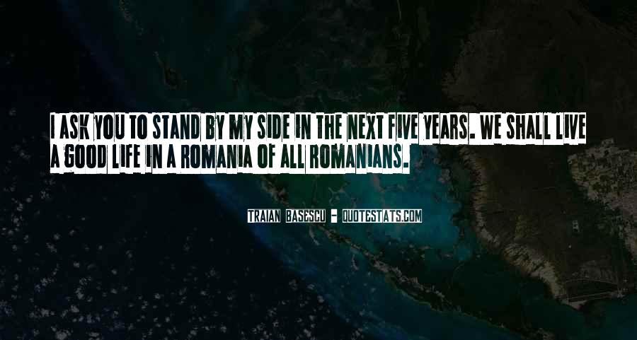 Quotes About Romania #596476