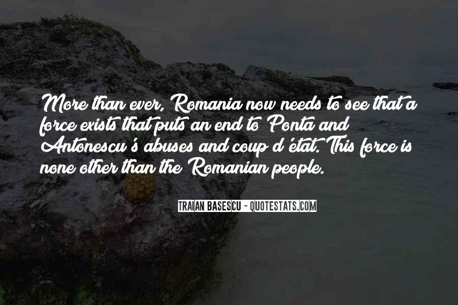 Quotes About Romania #823292