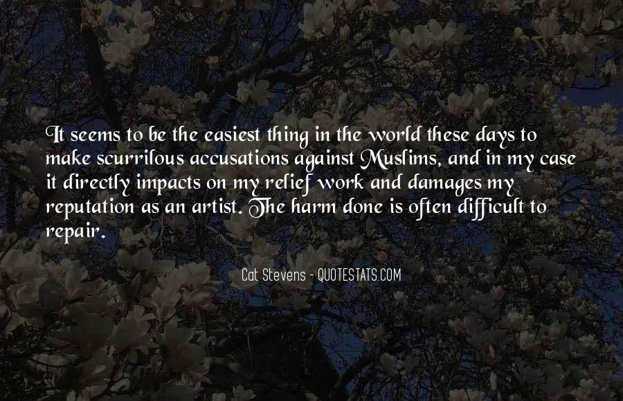 Quotes About Impact On The World #1069437