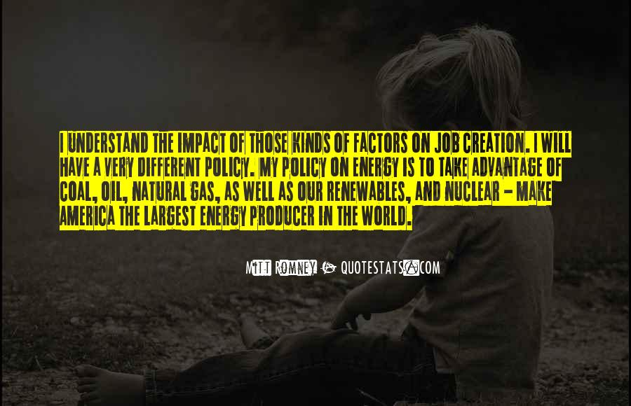 Quotes About Impact On The World #1114104