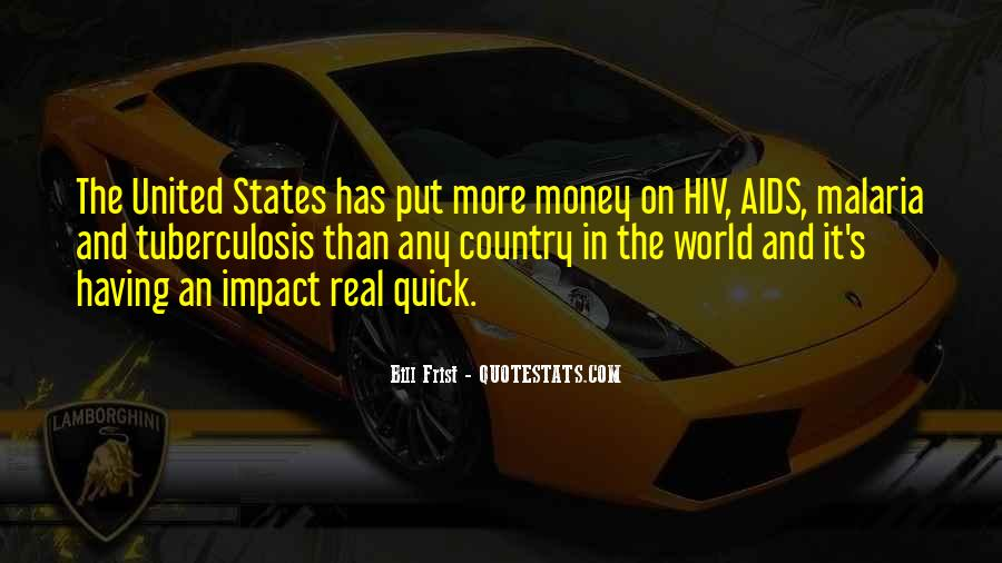 Quotes About Impact On The World #117666