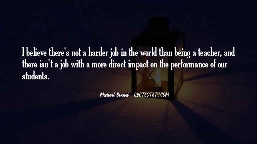 Quotes About Impact On The World #1185935
