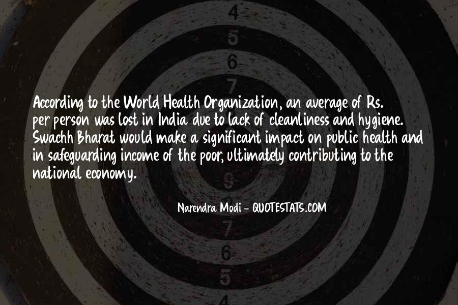 Quotes About Impact On The World #118959