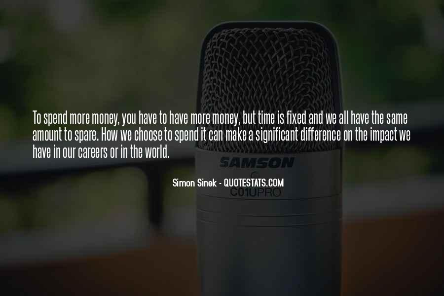 Quotes About Impact On The World #1239089