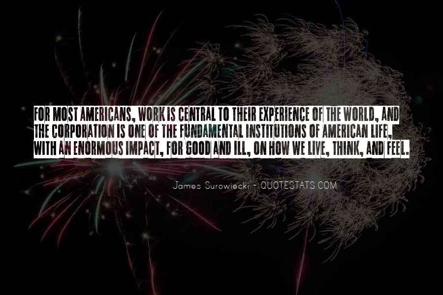 Quotes About Impact On The World #1258365