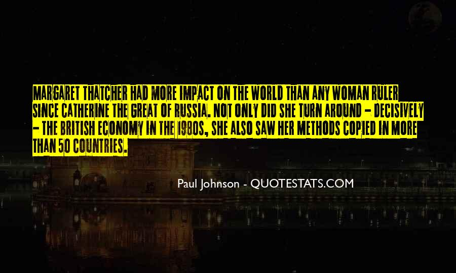 Quotes About Impact On The World #1319878