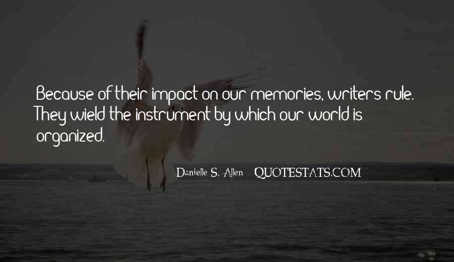 Quotes About Impact On The World #163313