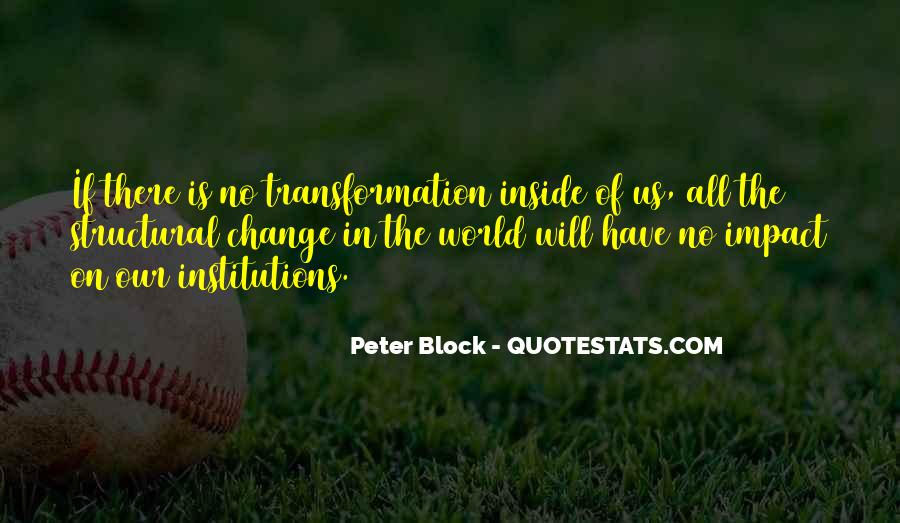 Quotes About Impact On The World #361634