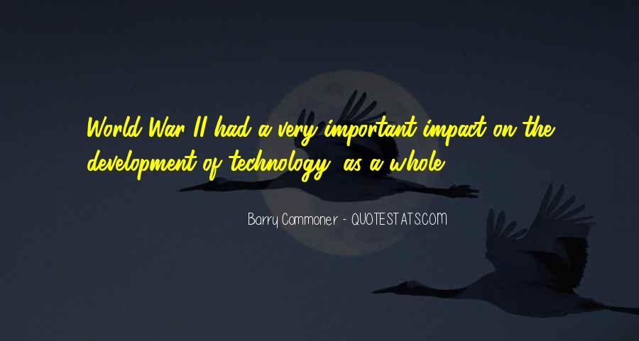 Quotes About Impact On The World #553750