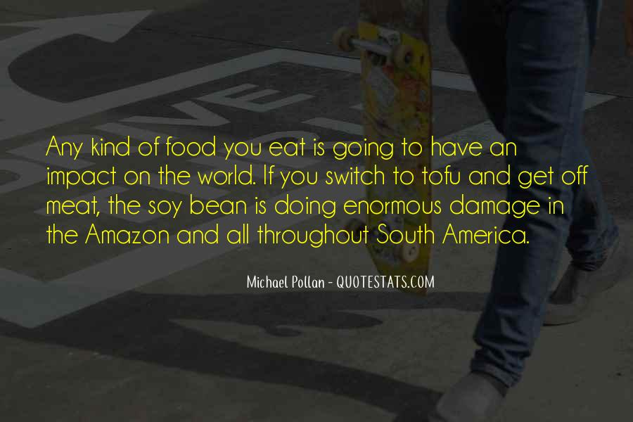 Quotes About Impact On The World #576994
