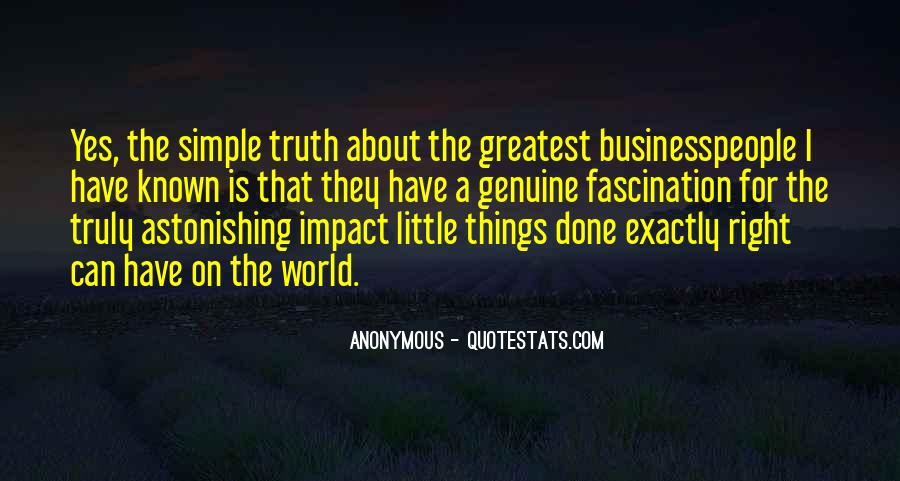 Quotes About Impact On The World #647436