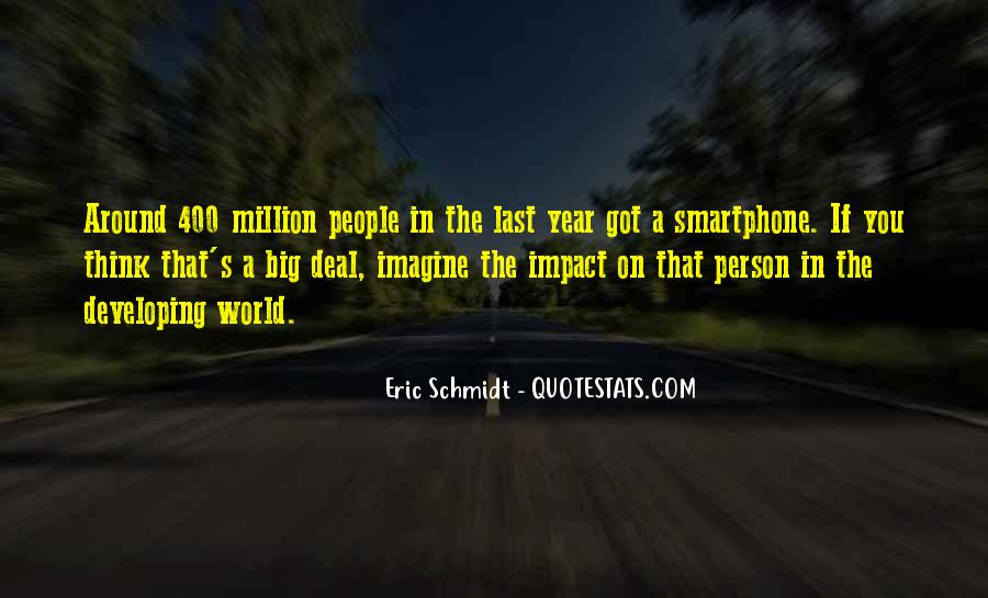 Quotes About Impact On The World #806740