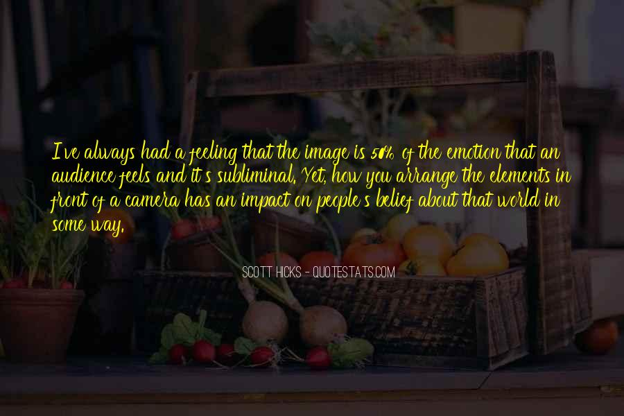 Quotes About Impact On The World #818072