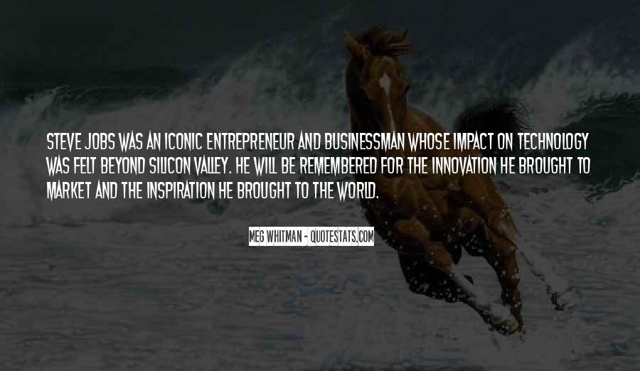 Quotes About Impact On The World #958789