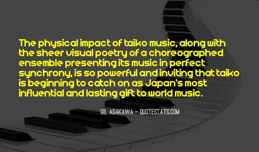 Quotes About Impact On The World #968690