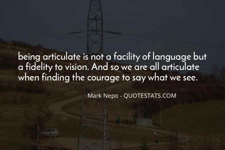 Quotes About Articulate #104226