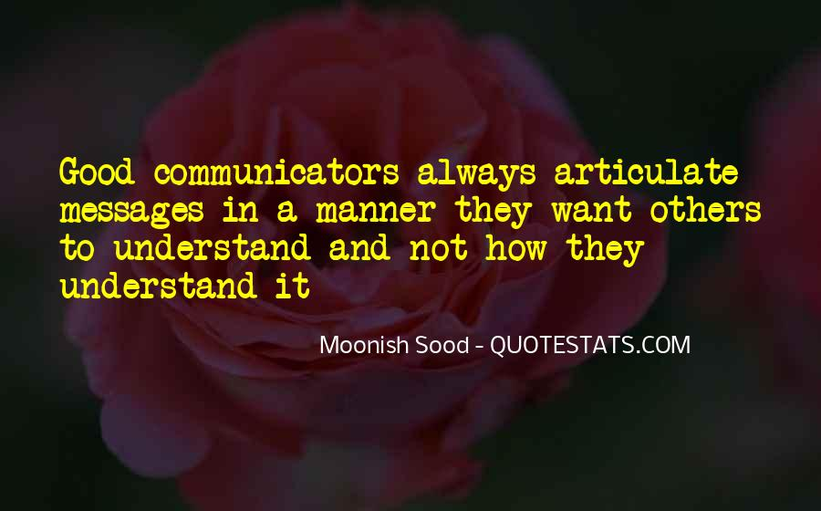 Quotes About Articulate #224877