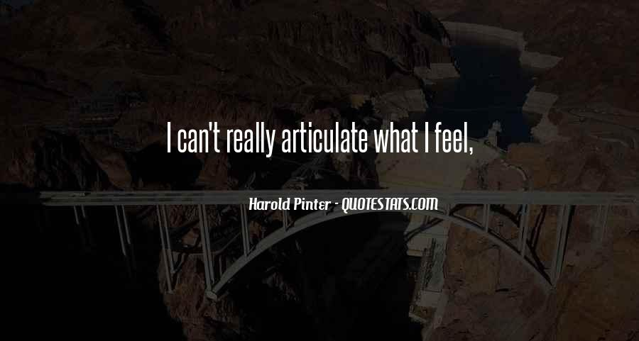 Quotes About Articulate #318120