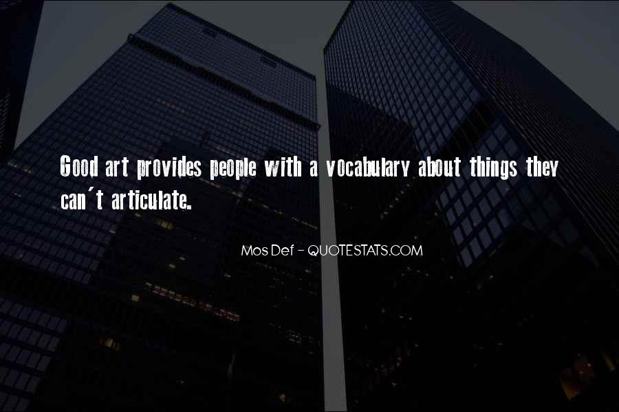 Quotes About Articulate #374364
