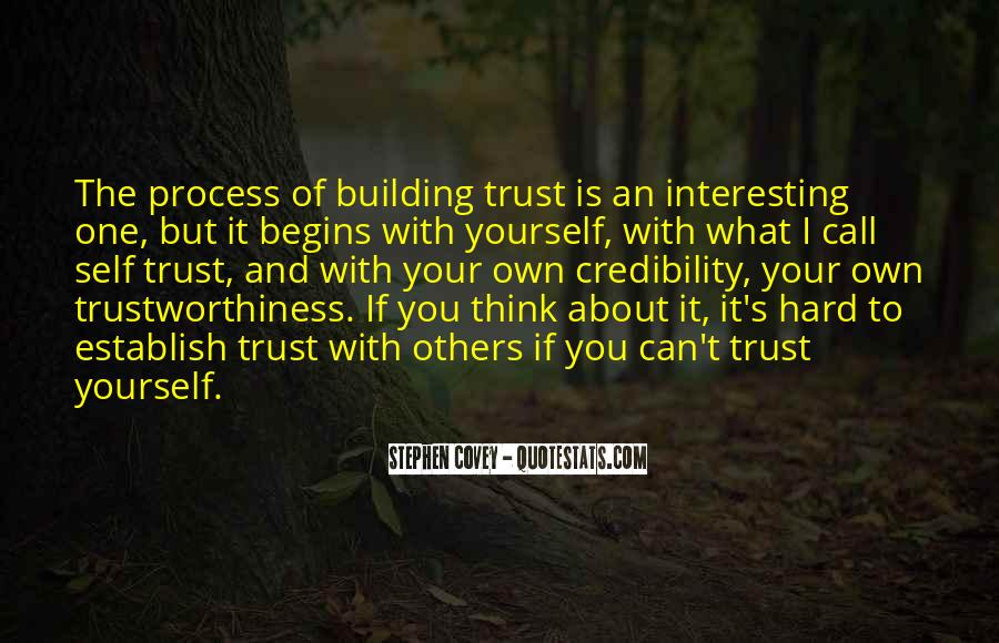 Quotes About Trustworthiness #22827