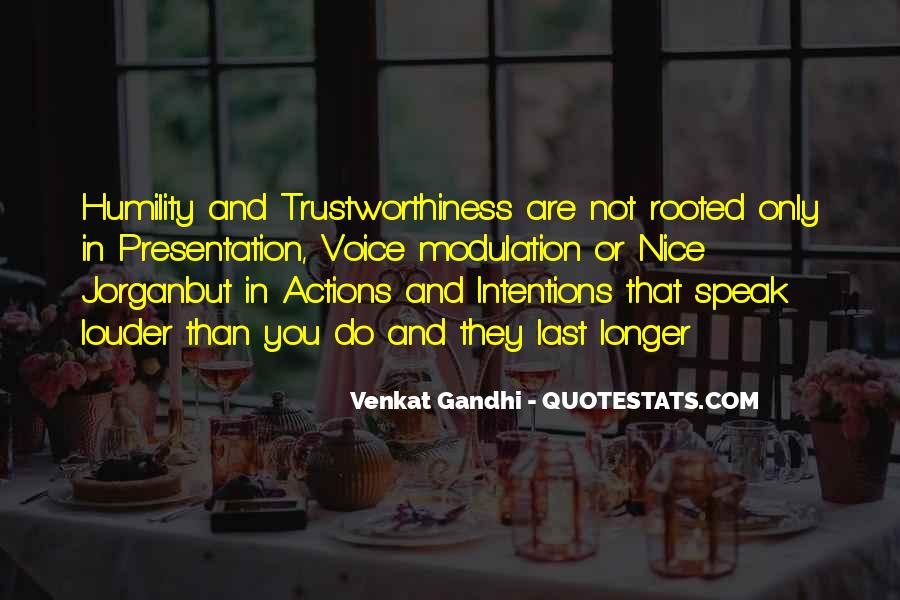 Quotes About Trustworthiness #250633