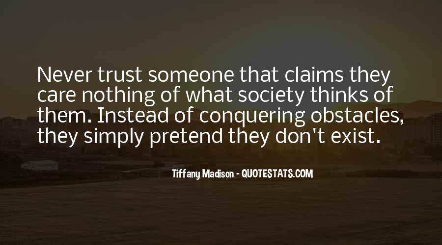 Quotes About Trustworthiness #366404