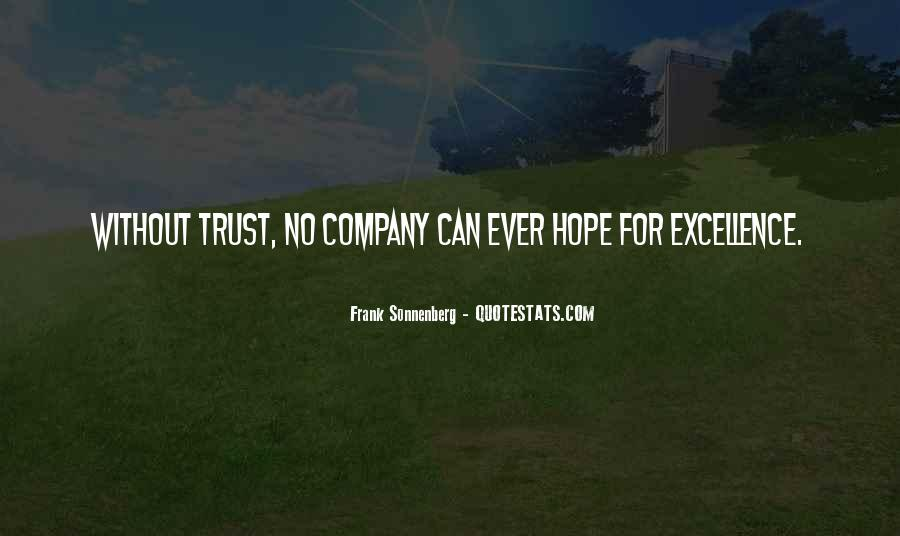 Quotes About Trustworthiness #698718