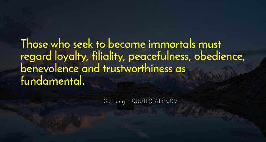 Quotes About Trustworthiness #877563