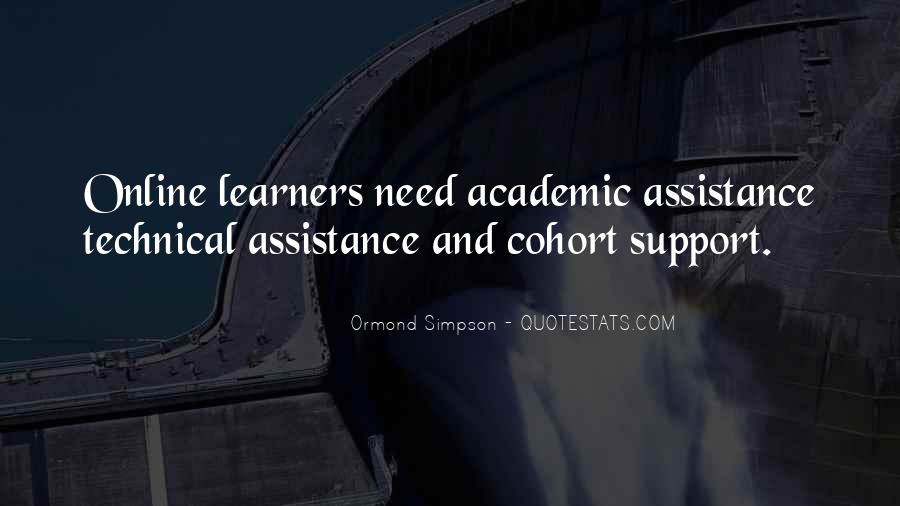 Quotes About Technical Assistance #456443