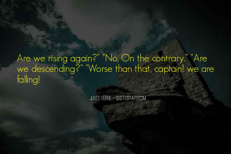 Quotes About Rising Again #1242720