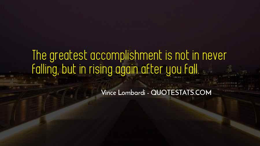 Quotes About Rising Again #477662