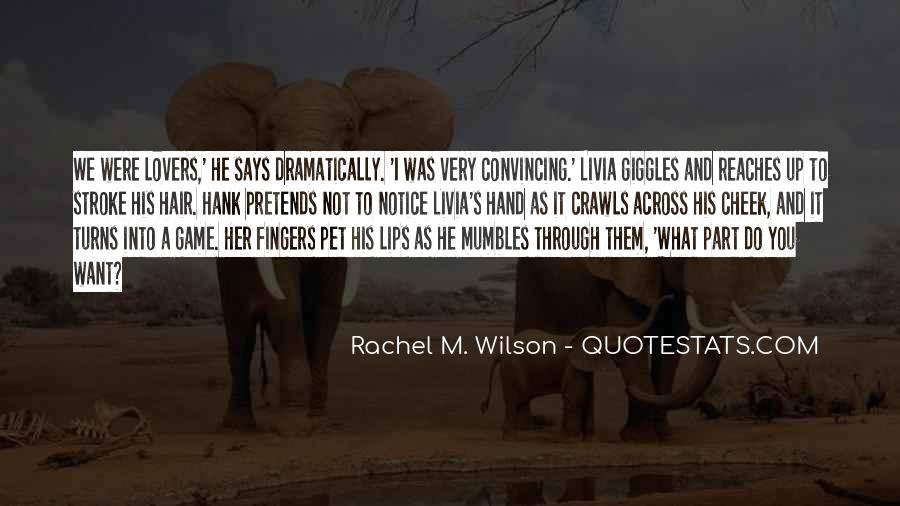 Quotes About His Touch #109394